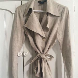Arden B 100 Linnen beige jacket Medium